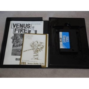 Venus Fire (1987, MSX, Cross Media Soft)