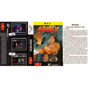 Bronx (1989, MSX, Animagic)
