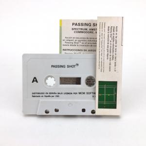 Passing Shot (1988, MSX, Sega)