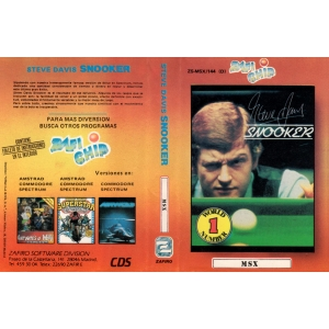 Steve Davis Snooker (1986, MSX, CDS Software)