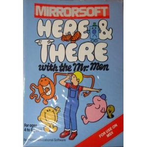 Here & There with the Mr. Men (1985, MSX, PrImer Educational Software)