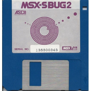 MSX-S BUG 2 (1989, MSX2, ASCII Corporation)