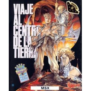 Viaje al centro de La Tierra (1989, MSX, Topo Soft)