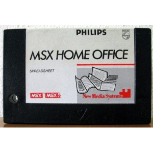 MSX Home Office - Spreadsheet (1986, MSX, Computer Mates)
