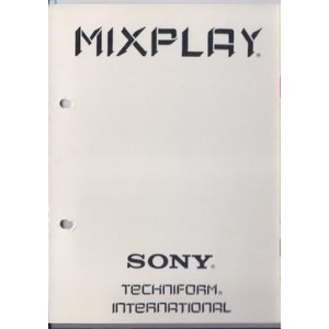 MIXPLAY, Interactive Authoring System (MSX2, Techniform International)