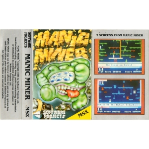 Manic Miner (1984, MSX, Software Projects)