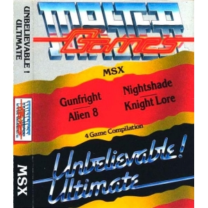 Master Games - Unbelievable! Ultimate (1986, MSX, Ultimate Play The Game)
