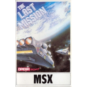 The Last Mission (1987, MSX, Opera Soft)