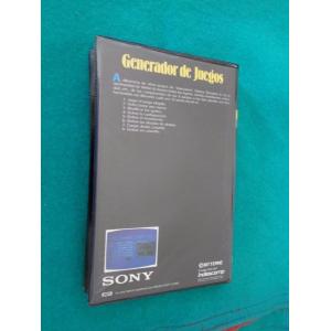 Generador de Juegos (1985, MSX, Indescomp)