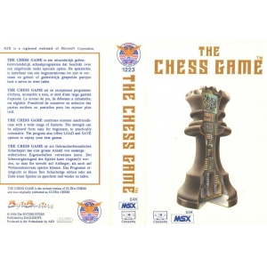 The Chess Game (1985, MSX, The Bytebusters)