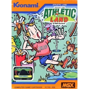 Athletic Land (1984, MSX, Konami)