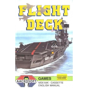 Flight Deck (1986, MSX, Aackosoft)