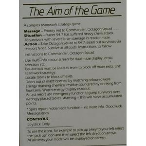 Octagon Squad (1986, MSX, Mastertronic)