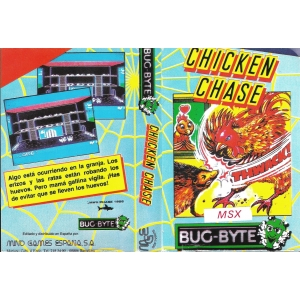 Chicken Chase (1986, MSX, Jawx)