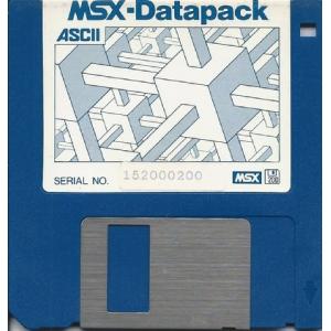 MSX Datapack (1991, MSX, MSX2, MSX2+, ASCII Corporation)