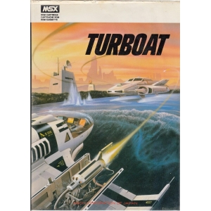Turboat (1984, MSX, Mass Tael)