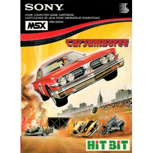 Car Jamboree (1984, MSX, Omori Electric Company (OEC))