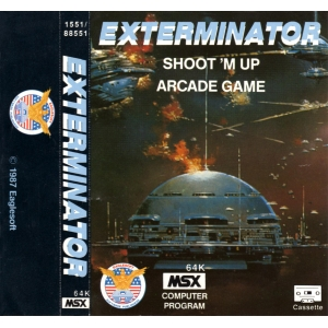 Exterminator (1987, MSX, The Bytebusters)