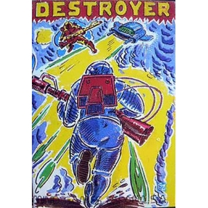 Destroyer (1986, MSX, Mind Games España)