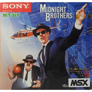 Midnight Brothers (1986, MSX, ZAP)