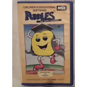 Puddles - Introduction to numbers (1984, MSX, R&D Computer Co. Ltd)