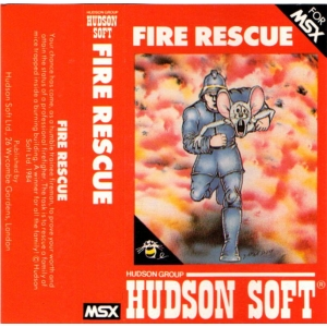 Fire Rescue (1984, MSX, Hudson Soft)