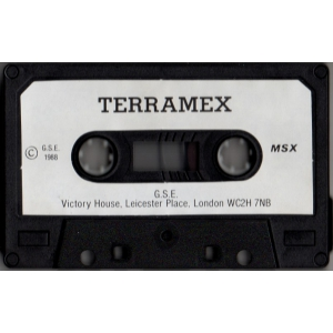 Terramex (1988, MSX, Teque Software Dev)