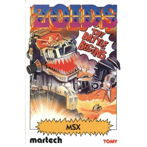 Zoids - The Battle Begins (1985, MSX, Martech Games)