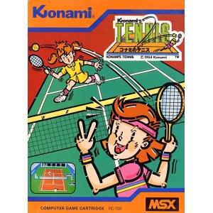Konami's Tennis (1985, MSX, Konami)
