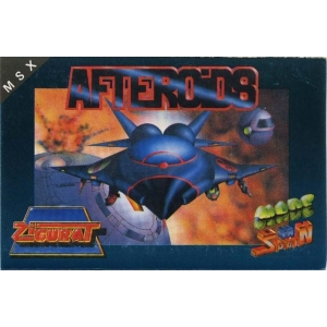 Afteroids (1988, MSX, Made in Spain)