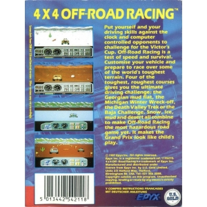 4x4 Off-Road Racing (1988, MSX, Epyx)