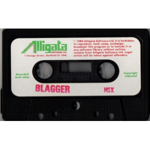 Blagger (1984, MSX, Alligata)