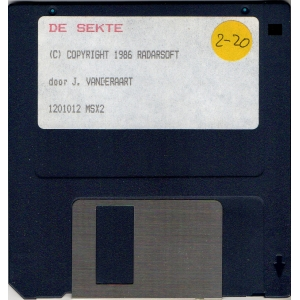 De Sekte (1987, MSX2, Radarsoft)