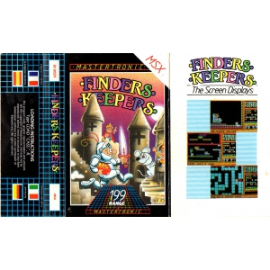 Finders Keepers (1986, MSX, Mastertronic)