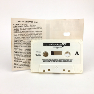 Battle Chopper (1985, MSX, Methodic Solutions)