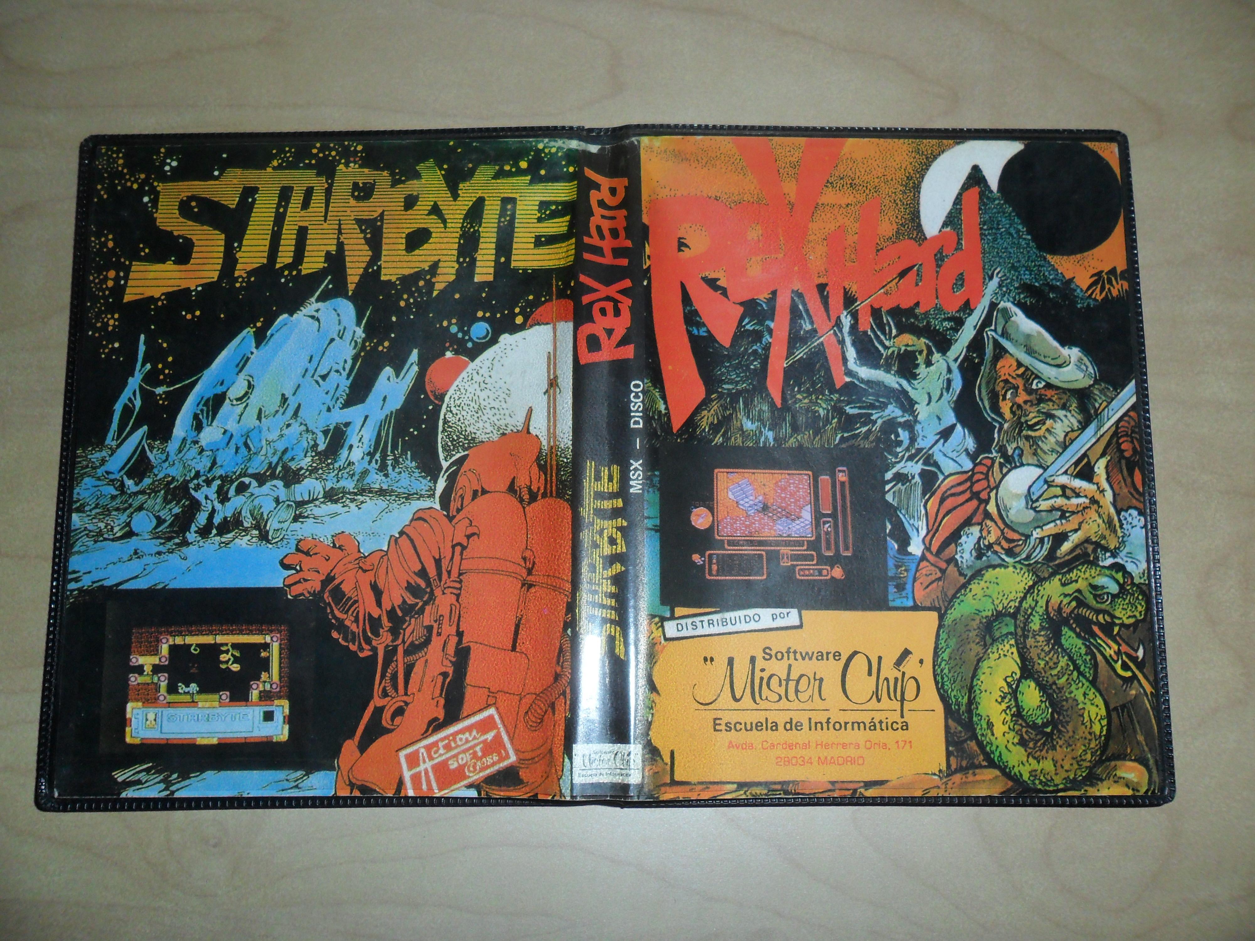 Starbyte / Rex Hard (MSX, Mister Chip)   Releases