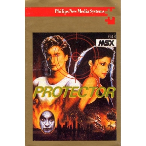 The Protector (1985, MSX, Pony Canyon)
