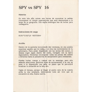 Spy vs Spy II - The Island Caper (1987, MSX, First Star Software)