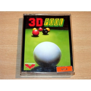3D Pool (1989, MSX, Aardvark Software)