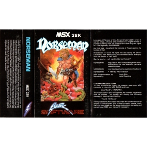 Norseman (1984, MSX, Electric Software)