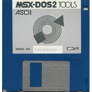 MSX-DOS2 Tools (1989, MSX2, ASCII Corporation)
