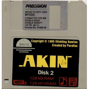 Akin (1995, MSX2, Parallax)