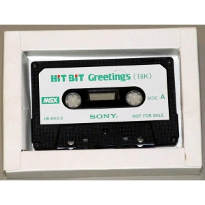 Hit Bit Greetings (1984, MSX, Sony)