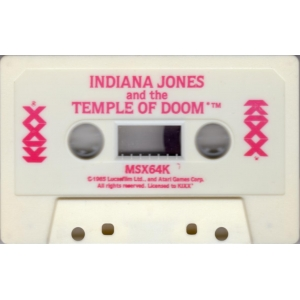 Indiana Jones and the Temple of Doom (1987, MSX, Atari Games)