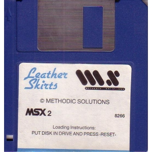Leather Skirts (1987, MSX2, Methodic Solutions)