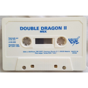 Double Dragon II - The Revenge (1989, MSX, Virgin Games, American Technos)