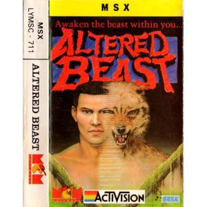 Altered Beast (1988, MSX, Sega, Activision)