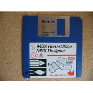 Home Office - MSX Designer (1986, MSX2, Computer Mates, A. Koene)