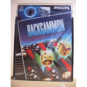 Backgammon (1984, MSX, Electric Software)