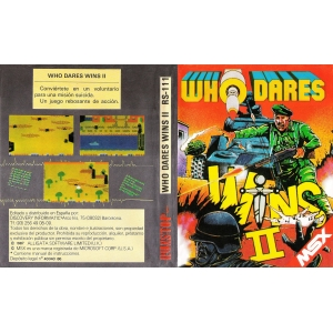 Who Dares Wins II (1986, MSX, Alligata)